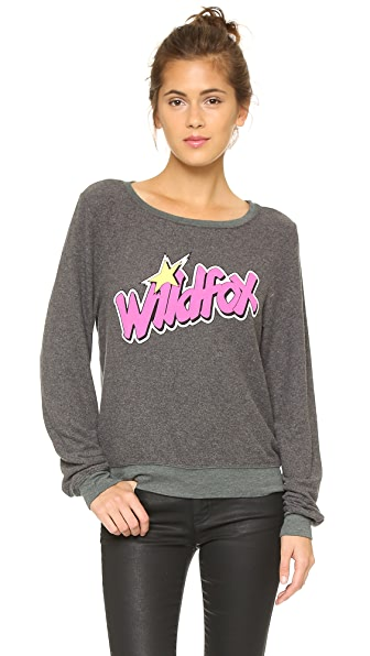 Jem and the Holograms Wildfox Baggy Beach Sweatshirt