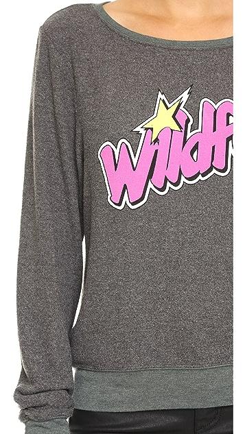 Jem and the Holograms Wildfox Baggy Beach Sweatshirt