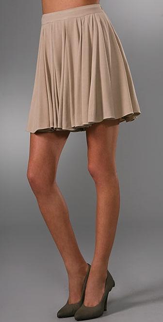 Jenni Kayne Godet Miniskirt