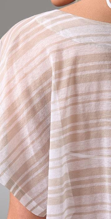 Jenni Kayne Striped Cotton Cover Up
