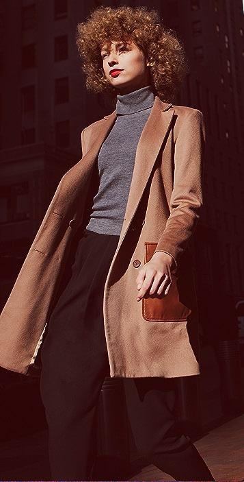 Jenni Kayne Double Breasted Coat