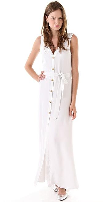 Jenni Kayne Button Down Maxi Dress
