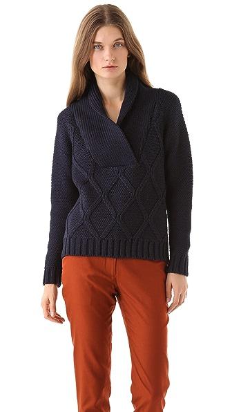 Jenni Kayne Shawl Collar Pullover
