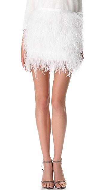 Jenni Kayne Feather Miniskirt