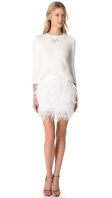 Jenni Kayne Crop Crewneck Sweater