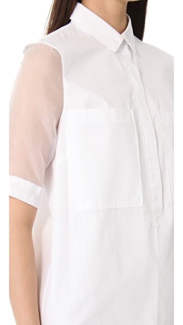 Jenni Kayne Sleeveless Shirtdress