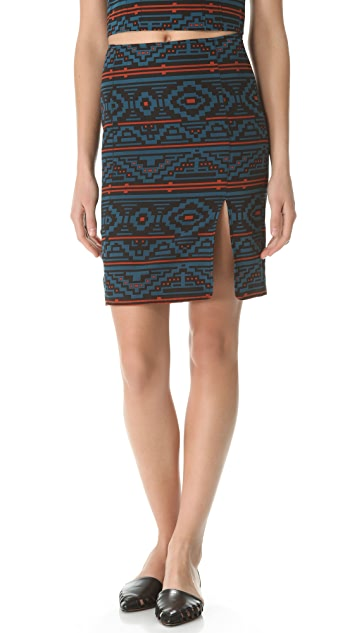 Jenni Kayne Printed Seam Skirt