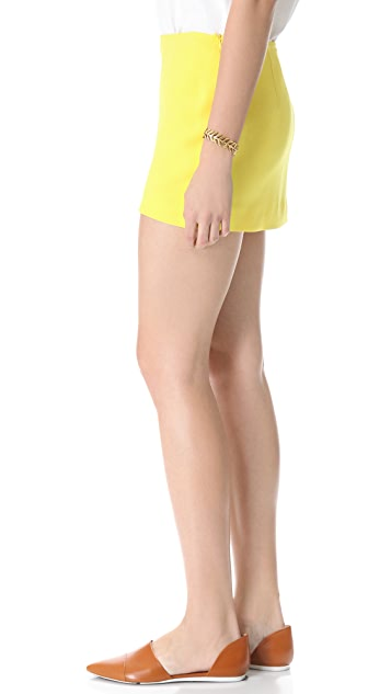Jenni Kayne Silk Miniskirt