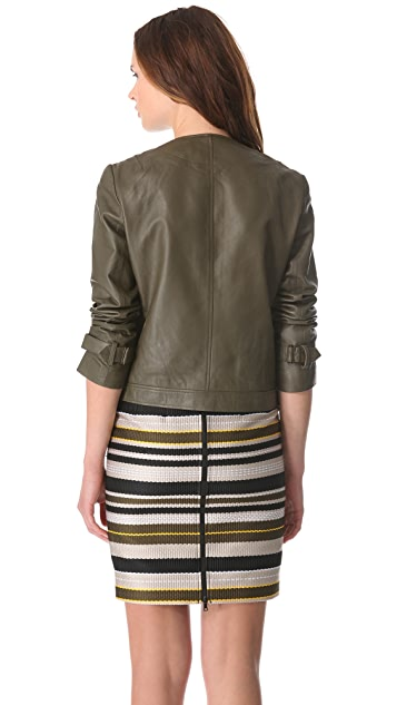 Jenni Kayne Leather Moto Jacket