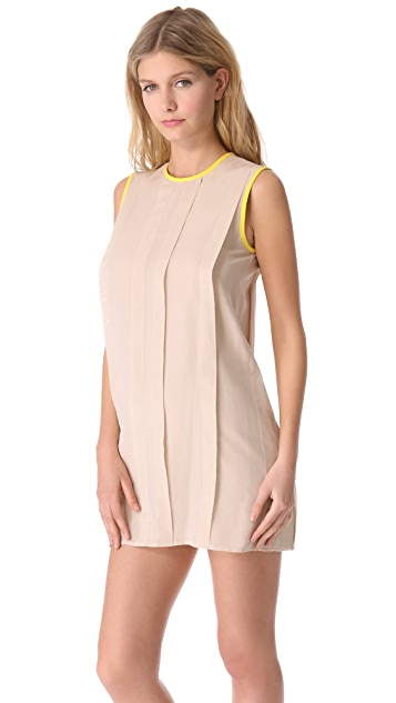 Jenni Kayne Sleeveless Pleat Dress