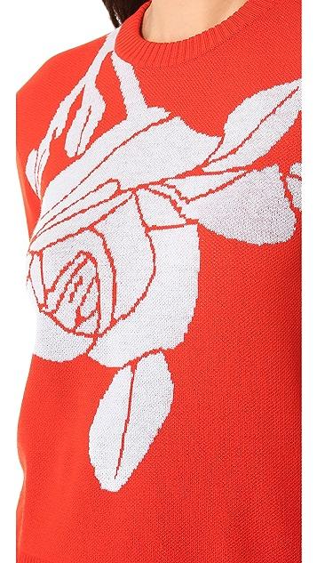 Jenni Kayne Rose Knit Sweater