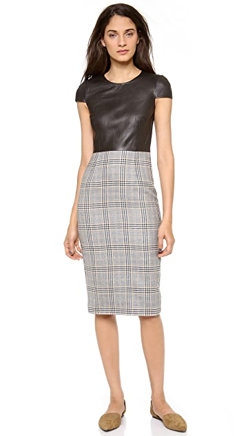 Jenni Kayne Short Sleeve Pencil Dress