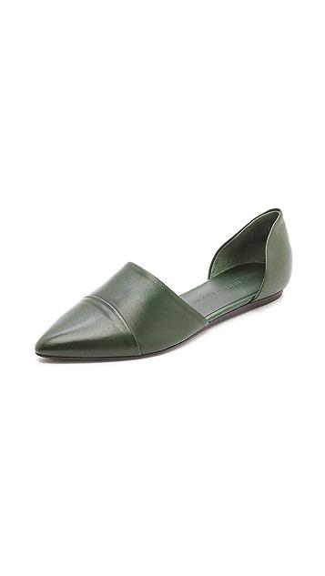 Jenni Kayne Leather d'Orsay Flats