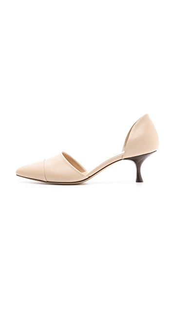 Jenni Kayne Leather d'Orsay Pumps