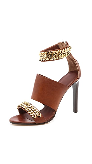Jenni Kayne Chain High Heel Sandals
