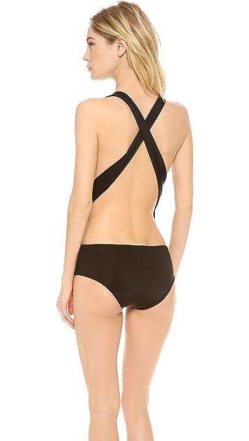 Jenni Kayne Deep V Swimsuit