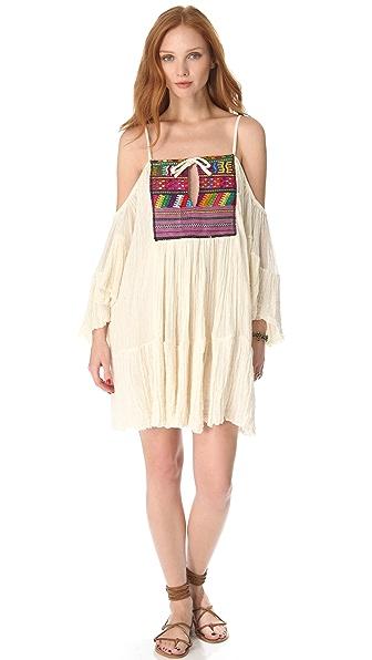 Jen's Pirate Booty Guipil El Matador Mini Dress