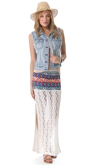 Jen's Pirate Booty Malibu Slit Skirt