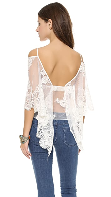 Jen's Pirate Booty Ethereal Butterfly Blouse