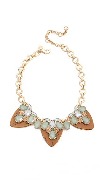 Lee By Lee Angel Gem Statement Neckalce