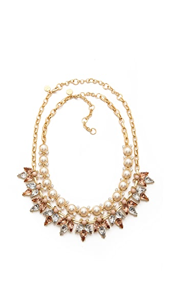 Lee By Lee Angel Crystal & Stone Necklace Set