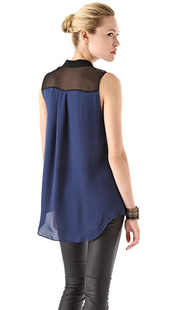 Jeunesse Edith Sleeveless Blouse