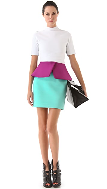 Josh Goot Peplum Skirt