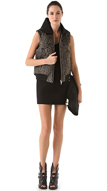 Josh Goot Quilted Hooded Vest