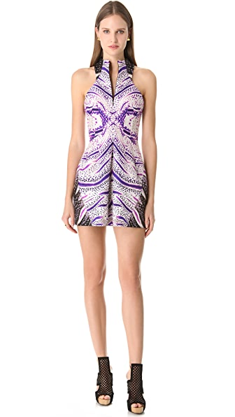 Josh Goot Reptile Racer Back Dress