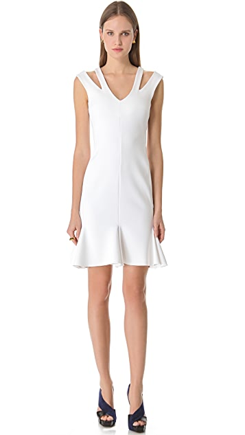Josh Goot Cutout Flared Dress