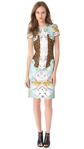 Josh Goot Cap Sleeve Dress