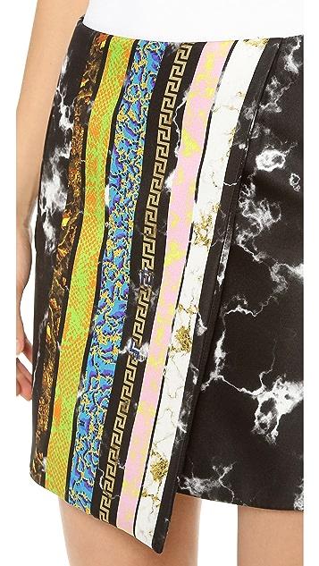 Josh Goot Tuxedo Stripe Skirt