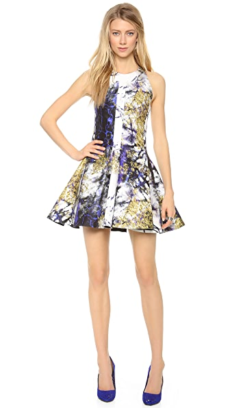Josh Goot Flare Square Panel Dress