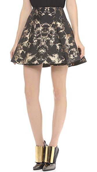 Josh Goot Flare Miniskirt