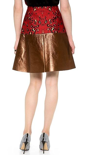 Josh Goot A Line Wrap Skirt