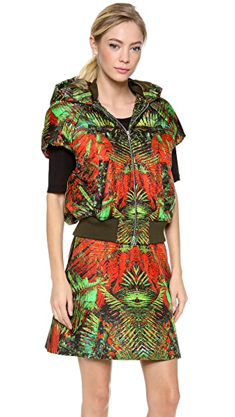 Josh Goot Raglan Hooded Vest