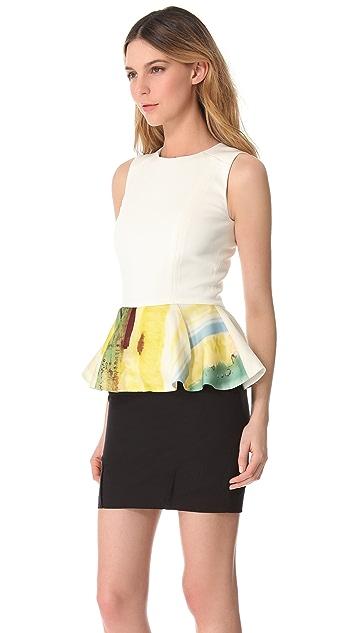 Julie Haus Novak Peplum Dress