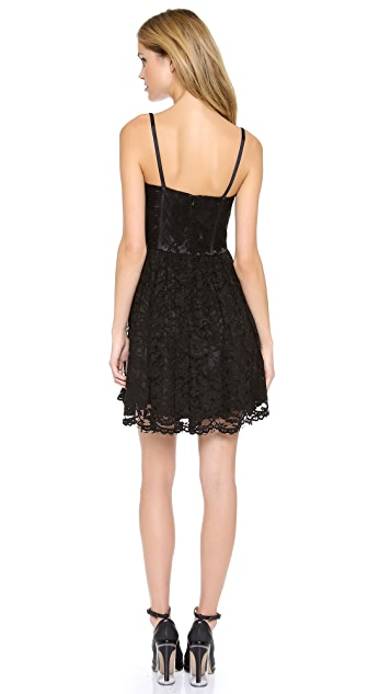Jill Jill Stuart Lace Bustier Dress