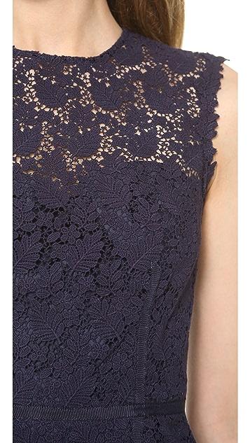 Jill Jill Stuart Lace Pencil Dress