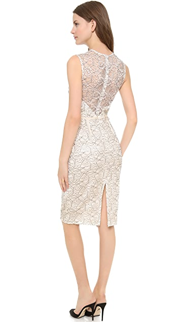 Jill Jill Stuart Embroidered Lace Dress