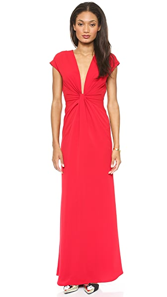 Jill Jill Stuart Twist Front Maxi Dress