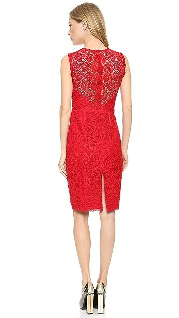 Jill Jill Stuart Lace Sheath Dress
