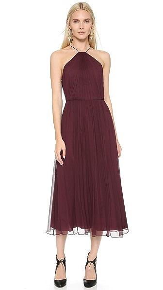 Jill Jill Stuart High Neck Gown