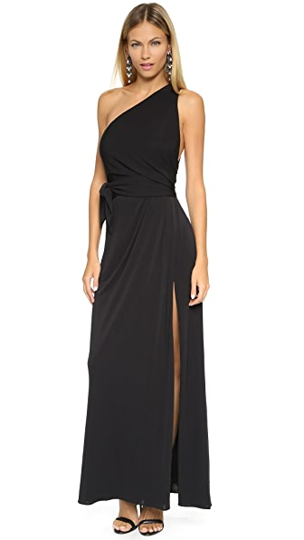 Jill Jill Stuart One Shoulder Gown