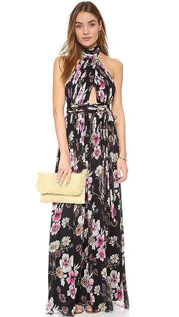 Jill Jill Stuart Halter Floral Gown