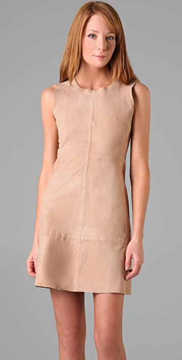 Jill Stuart Juliya Suede Dress