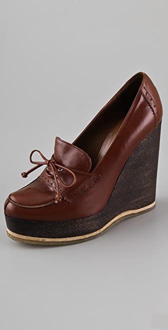 Jill Stuart Natacha Wedge Loafers