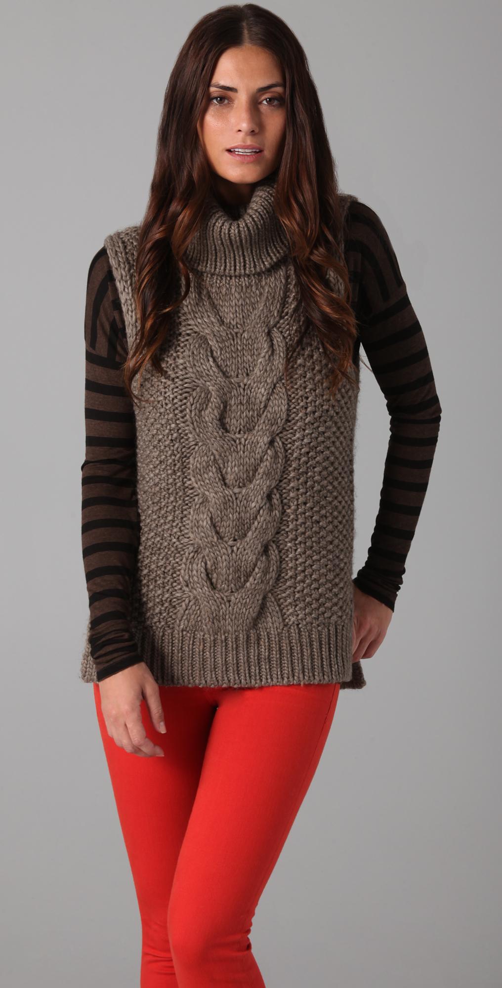 Jill Stuart Sorsele Iris Sleeveless Sweater Shopbop