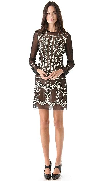 Jill Stuart Janet Beaded Dress