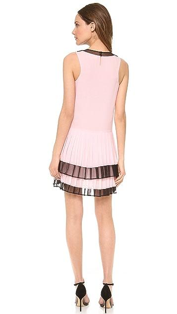 Jill Stuart Rina Pleated Dress